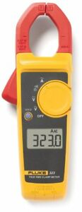 Clamp Meter Fluke 323 True Rms 600v Ac Dc Measures Ac Current To 400 Amp Tool