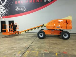 2007 Jlg 400s 500lb Telescopic Boom Lift Diesel Straight Boom With Sky Power