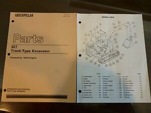 Caterpillar E 307 Excavator Parts Manual With 4d32 Engine