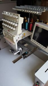 Swf b t1501 Single Head 15 Needle Commercial Embroidery Swf Machine Extras