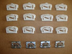 1978 1987 Monte Carlo El Camino Cutlass Regal Windshield Molding Trim Clips Kit