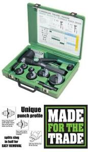 Greenlee 7906sb Quick Draw 90 Hydraulic Punch Driver And Kit With Conduit Sized