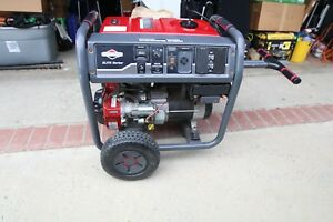 Briggs Stratton 30679 8000 Watt Electric Start Portable Generator