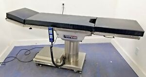 Skytron Model 6500n Elite Surgical Or Table W Pads Hand control