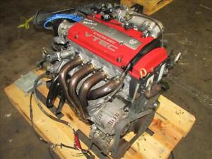 Jdm 98 02 Honda Accord Euro R Cl1 Dohc Vtec H22a Engine Lsd T2w4 Mt Mugen Header
