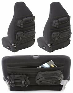Smittybilt Gear Molle Front Rear Seat Covers For 1997 2002 Jeep Wrangler Tj