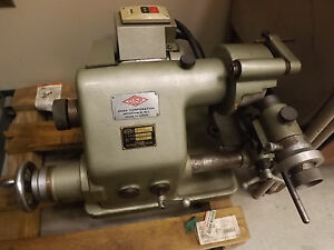 Tool And Cutter Grinder cosa Japan Ex Condition Wheels And Collets