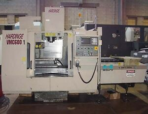 Cnc Verticalmachining Center Pallet Changer Table Rigid Tap Hardinge Vmc 60