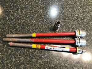 Hilti Drill High End Diamond Core Bits Lot Of 4 Used Items