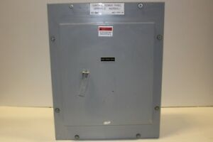 General Electric Aqf1121ctx Panel Board 125 Amp 240 120 Volt