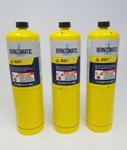 Worthington Cylinder Bernzomatic Map Pro Fuel Cylinder 14 1 Oz 3ct