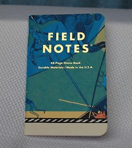 Field Notes Landland Dead Print Notebook Punch Brothers new Years In Nyc