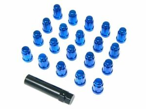 Muteki Close Ended Wheel Lug Nuts Blue 12x125mm 20pcs