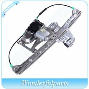Front Driver Side Window Regulator With Motor Fits 2000 2001 Cadillac Deville