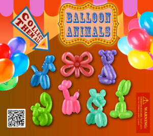 250 Pcs Vending Machine 0 50 0 75 Capsule Toys Balloon Animals