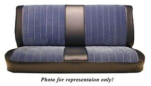 1981 87 Chevy gmc Std Cab Front Bench Seat Upholstery Velour 5 Color Choices
