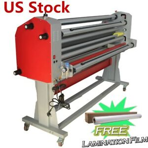 Usa 67 Full auto Pneumatic Cutter wide Format Cold Laminator With Heat Assisted