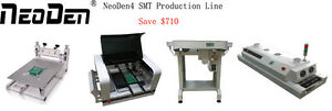 Solder Printer Pick And Place Machine Conveyor Reflow Oven Smt Production Line j