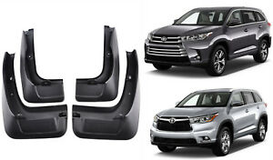 Genuine Oem Splash Guards Mud Flaps Pt34548140 For 2014 2018 Toyota Highlander