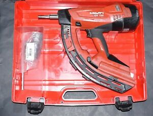Hilti Tools Fully Automatic Gas Actuated Nail Gun Fastener Gx120 Replaced By Gx3