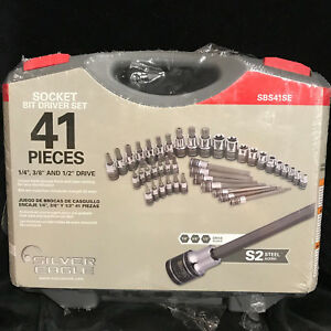Matco Tools Sbs41se Silver Eagle 41 Piece Socket Bit Driver Set