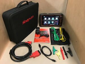 Snap On Tools Modis Edge Scanner 16 4 Great Diagnostic System Euro L k