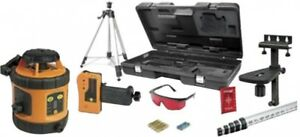 Self leveling Rotary Line Laser Level Tool Tripod Grade Rod Detector Mount