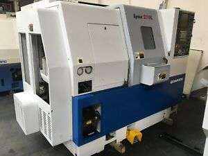 Daewoo Lynx 200lc Cnc Lathe 2001 Collet Chuck Tailstock Tool Presetter