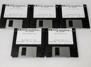 Hp 16500b System Disk 1 4 And Test Disc 16500 68750