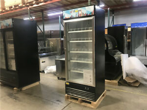 H81 X W24 Commercial 1 door Beer Soda Glass Display Refrigerator Cooler