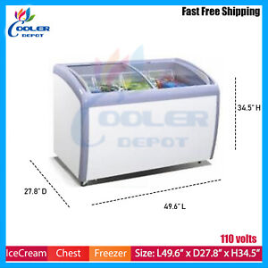 49 Commercial Ice Cream Chest Freezer Scf49 Nsf