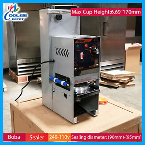 Boba Drink Plastic Lid Sealing Machine Commercial Boba Sealing Machine