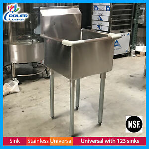 Commercial Stainless Steel 18 Ins Mop Sink Nsf