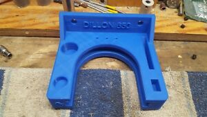 Dillon 650 tool head mount reloading