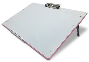 Visual Edge Slant Board Pink A Sloped Work Surface For Writing Reading Art