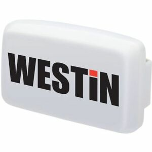 Westin Automotive Driving Lights Large Rectangular Light Cover White Universal