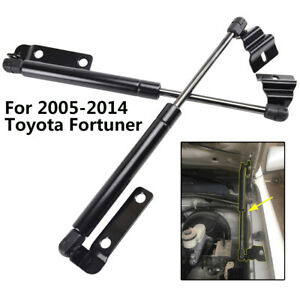 One Pair Front Hood Bonnet Support For Toyota Hilux Fortuner 2005 2014 Gas Strut