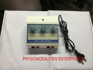 Physiotherapy Electric Therapy Machine Tens 2 Channel Pain Relief Equipment