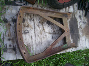 Vintage Oliver 77 Row Crop Tractor draw Bar Frame 1952