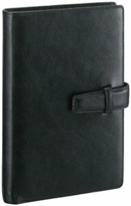 Reimeifujii stationery personal Organizer Note Book Black Db3006b