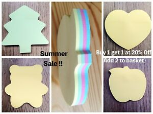 Wholesale Prices Assorted Post It Sticky Notes Removable Bookmark Memo Notepad