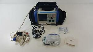 Zoll M Series Biphasic Cardiac Monitor W 3 Lead Ecg Ekg Spo2 Nibp Pacing