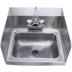 14 X10 X 5 25 360 Rotate Stainless Steel Hand Washing Sink With Faucet Us
