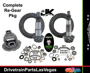 Jeep Wrangler Jk Dana 44 30 Ring Pinion Gear Set Master Kit Carrier 4 11 Area 51