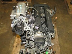 Jdm 97 01 Honda Cr V Dohc 2 0l High Comp B20b Longblock Engine Motor Only
