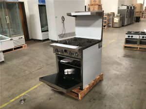 24 Gas Oven Range Made In Usa Nsf Commercial Stainless Steel
