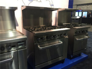 36 Gas Range With 1 36 Griddle And 1 26 1 2 Wide Oven Nsf