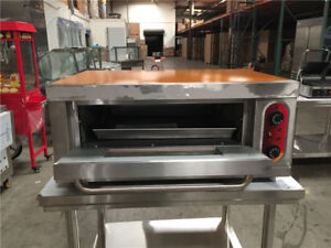 16 h X 36 w Commercial Electric Oven Single stainless Steel Table Cooler Depot