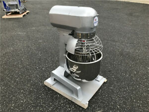 20 Quart Dough Food Stand Mixer Heavy Duty Restaurants Commercial 3 Speed