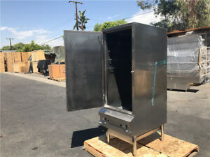 24 Smoker Bbq Oven Outdoor Nsf Commercial Stainless Steel Cooler Depot New